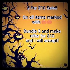 🎃🎃 Fall Clean Out Sale 🎃🎃